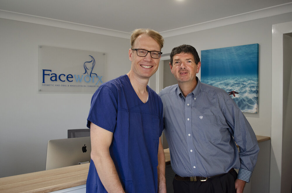 Doctors Franc and Clive.